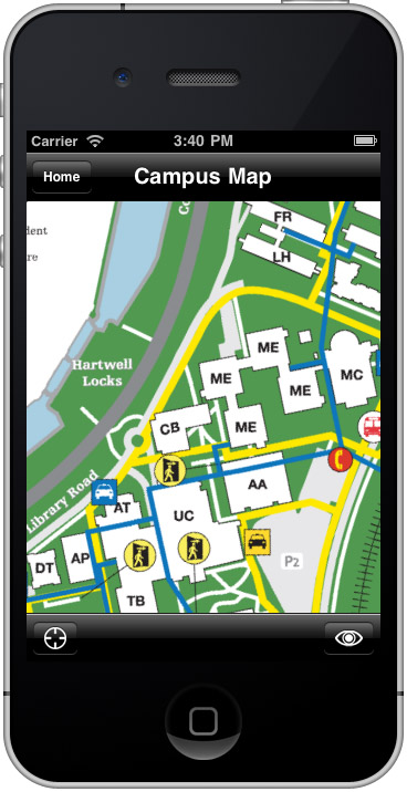 Carleton Mobile Map