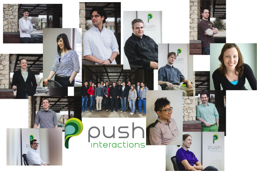 Push team collage