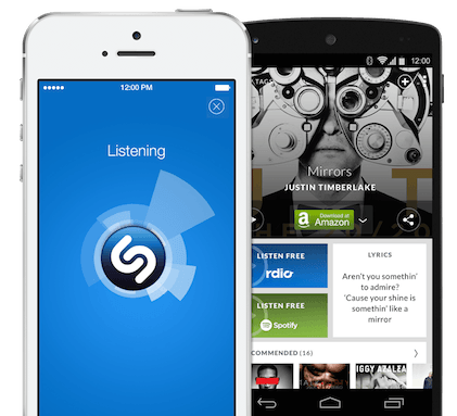 Shazam Screenshots for iPhone & Android