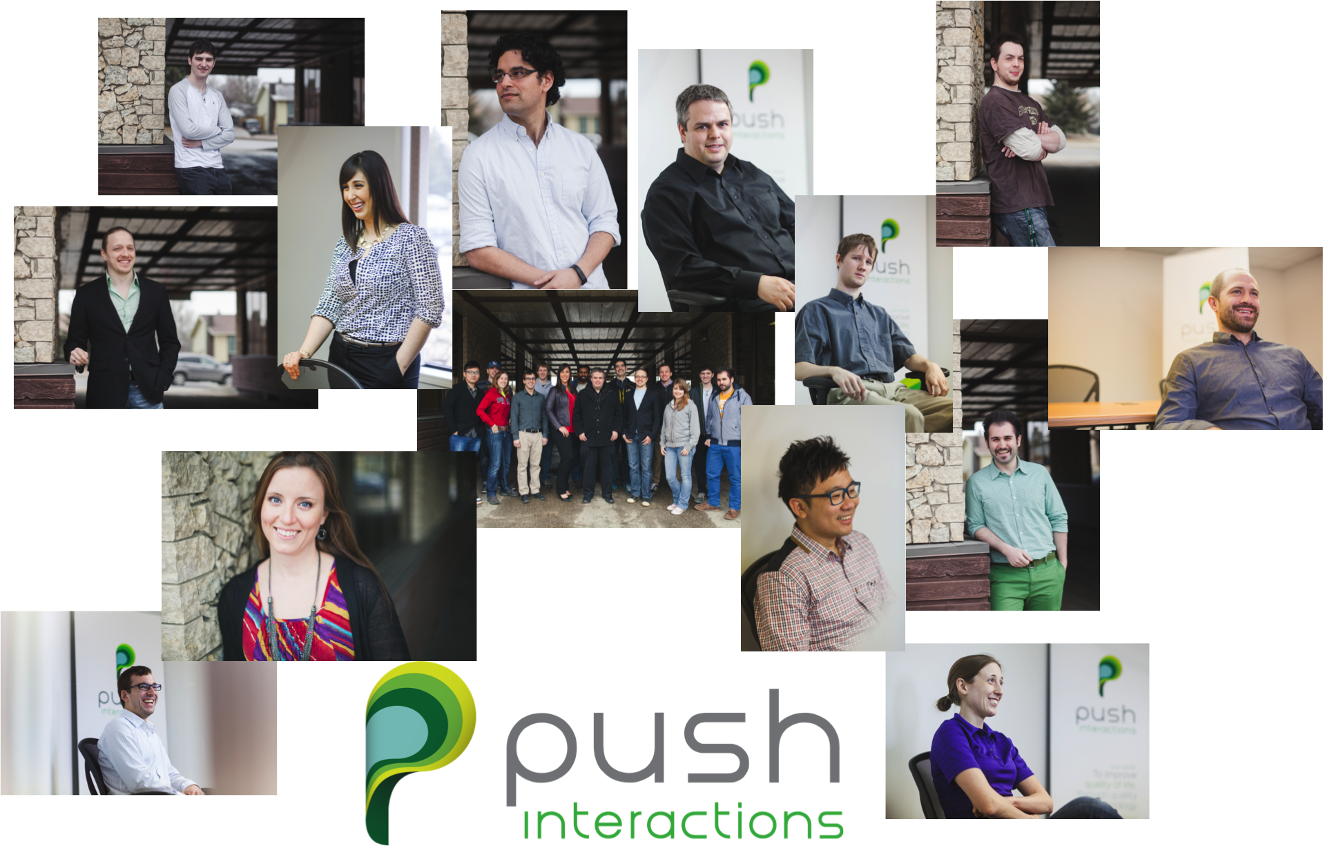 Push Interactions 5th Birthday Celebration - Team Collage